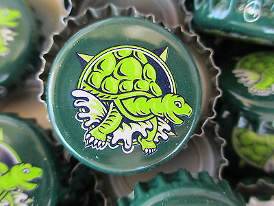 100 ( Terrapin Brewery ) beer bottle Caps (No Dents). Free S&H