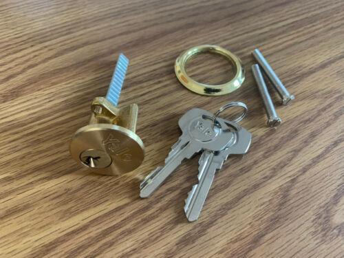 Yale P-1109-PB Rim Cylinder Lock Polished Brass