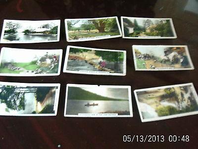 cavanders ltd cigarette or tea cards the homeland series x 9