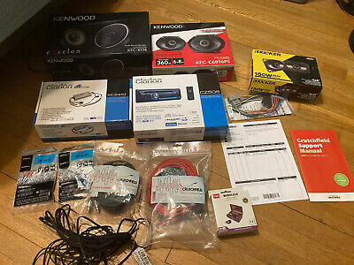 Car Audio Lot - Head Unit Speakers Amplifier Patch Cables And More Kenwood