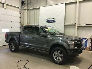 2018 Ford F-150 LARIAT  - FINANCE STARTING AT 2.9%