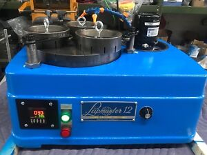 "LAPMASTER 12"" LAPPING MACHINE WITH VARIABLE SPEED CONTROL"