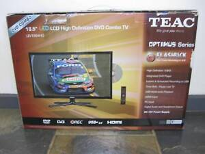 """TEAC 18.5"""" LED LCD High Definition DVD Combo TV Brand New"""
