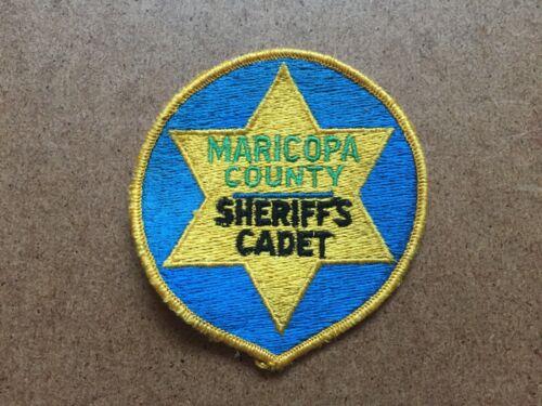 MARICOPA COUNTY ARIZONA SHERIFFS CADET PATCH