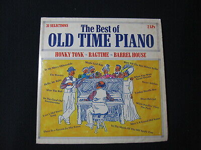 The Best of Old Time Piano Honky Tonk Ragtime [Vinyl] 2 LP Set