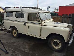 1971 Land Rover (4X4) Wagon New Norfolk Derwent Valley Preview
