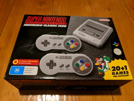 Super Nintendo Mini SNES Classic Console Brand New in Box