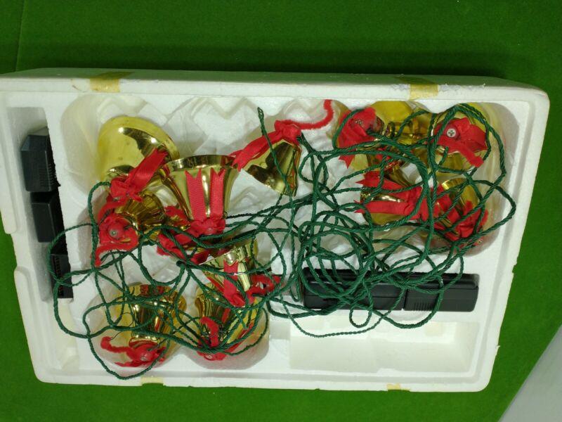 Vintage Ye Merrie Minstrel 12 Caroling Christmas Bells 25 Carols AUS 200 *READ*