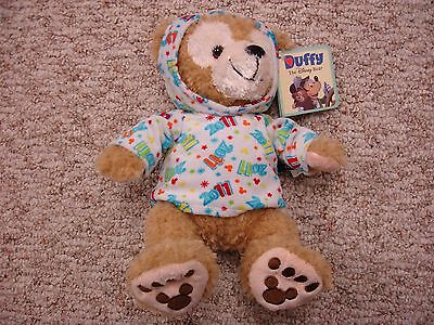 """Disney World Parks 2011 Dated Mickey Mouse Duffy Bear 12"""" Plush (NEW)"""