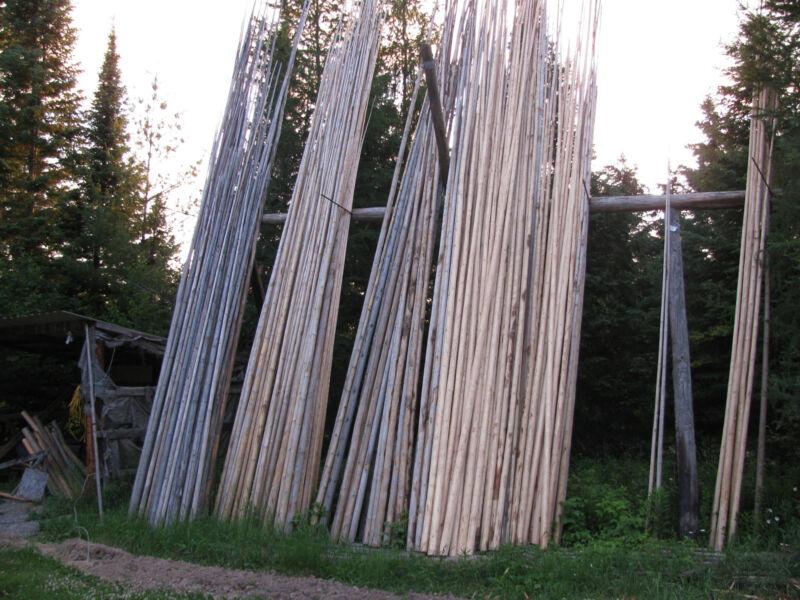 Hand Crafted Tipi Poles  Teepee Poles  Tepe Poles