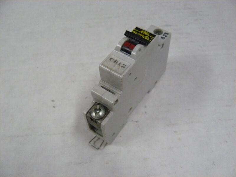 AEG ELFA-E81S-C4 CIRCUIT BREAKER 4 AMP 1 POLE 240/415 VOLT AC C CURVE