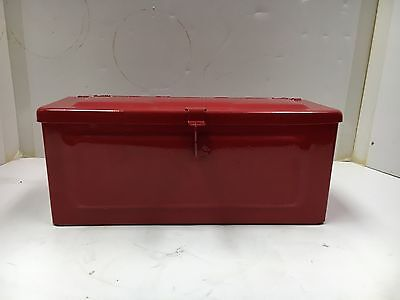 Small Tractor Tool Box - Red