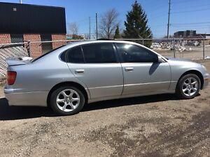 1998 Lexus GS300 rear wheel drive AS-IS