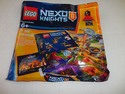 LEGO Nexo Knights Minifigure And Keychain 2016 Promotional Polybag NEW  6142153