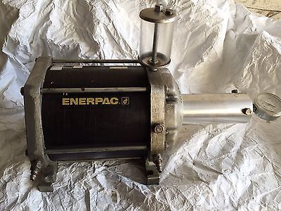 Enerpac B3308 Pneumatic Hydraulic Booster Intensifier