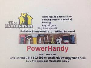 Handyman Service Newcastle Area Adamstown Newcastle Area Preview