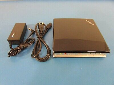 Zotac ZBox AD01 Barebones MiniPC Desktop ZBOXHD-AD01 Dual Core Processor 1500MHz comprar usado  Enviando para Brazil
