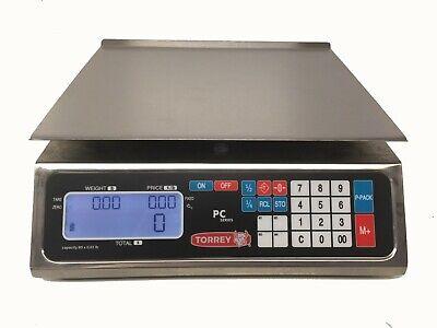 Tor-rey Pc-80l-hs 80 X .02 Lb Price Computing Scales