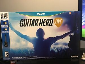 Guitar hero Live Wii u SEALED