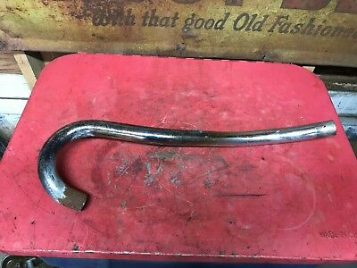 BSA B44 Victor Special 1968-70 Chrome High Level Exhaust Pipe