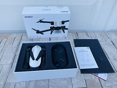 SIMREX X900 Drone Optical Stream Positioning RC Quadcopter with 1080P HD (White)