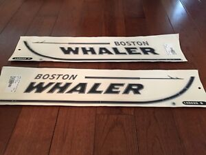 Boston Whaler OEM factory new hull decals