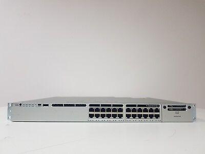 CISCO WS-C3850-24P-L 3850  24-Port Layer 2 SWITCH Gigabit PoE+ £1300 + VAT