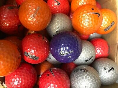 40 PEARL  A GRADE SUPER RARE NIKE MOJO DISCO GOLF LAKE BALLS
