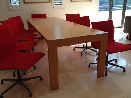 DINING TABLE by Jasper Morrison Double Bay Eastern Suburbs Preview