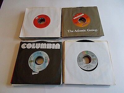 Купить Lot Of 25 45RPM 70s 80s Pop Rock Soul Funk Jukebox Wholesale Random Vinyl Record