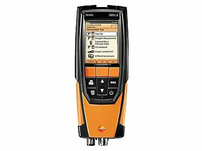 Testo 320 Flue Gas Combustion Analyzer Wcase O2 Co Co2 0563 3220 70