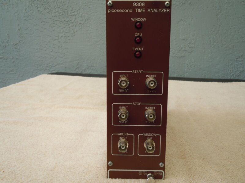 ORTEC PICOSECOND TIME ANALYZER 9308 PLUG IN MODULE.
