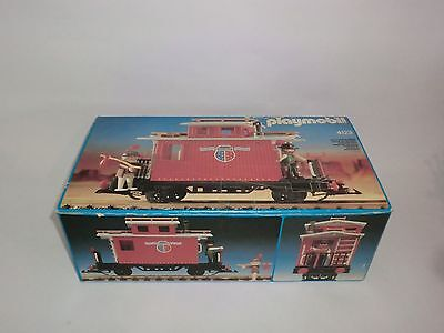 Playmobil 4123 Caboose Begleitwagen Western Waggon Eisenbahn LGB OVP 4034 4054