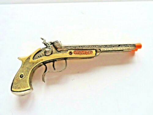 Hubley 1950 pirate pistol all original working correctly with each hammer firing