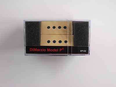 DiMarzio Model P Bass Pick-up Set Creme DP 122, used for sale  Harrisburg