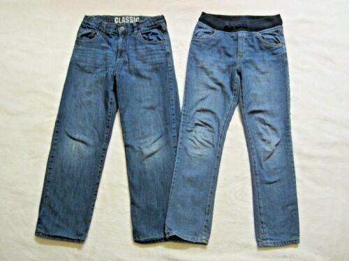 Gymboree lot of 2, boys fleece/Jersey lined dark jeans size kids 10, ***READ***
