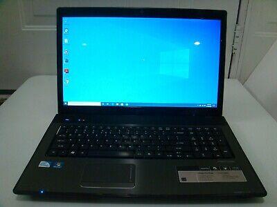 Acer Aspire 7741Z 17.3' Win 10(4gb*320gb*@2.13GHz)Webcam*HDMI*DVDRW*AUT#1947*NR*