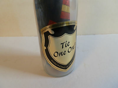 "Collectible Bottle: ""Tie One On"" (Tie in Bottle) (Canada)"