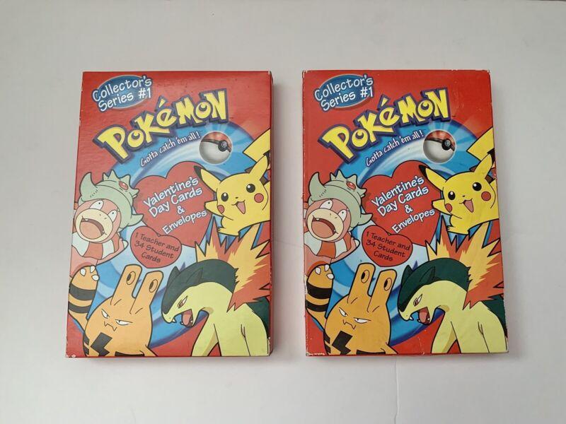 2 Boxes of Pokemon Valentine