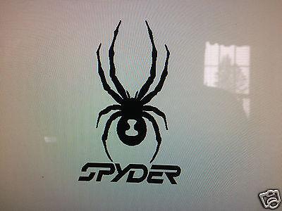 2 SPYDER  Logo-Vinyl-Decal-Car-Truck-Window-Sticker
