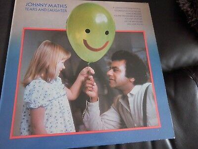 JOHNNY MATHIS - TEARS AND LAUGHTER - LP/RECORD - CBS - S CBS 10019 - UK - 1980