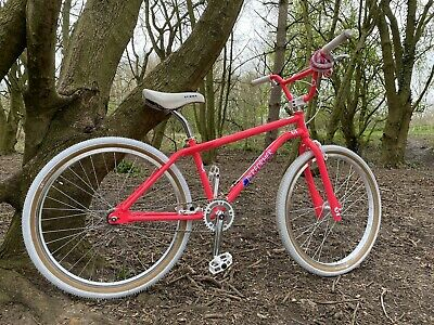 "GT Pro Performer 26"" Pink Old School Bmx Mid Se Bikes Haro Hutch Cruiser Retro"