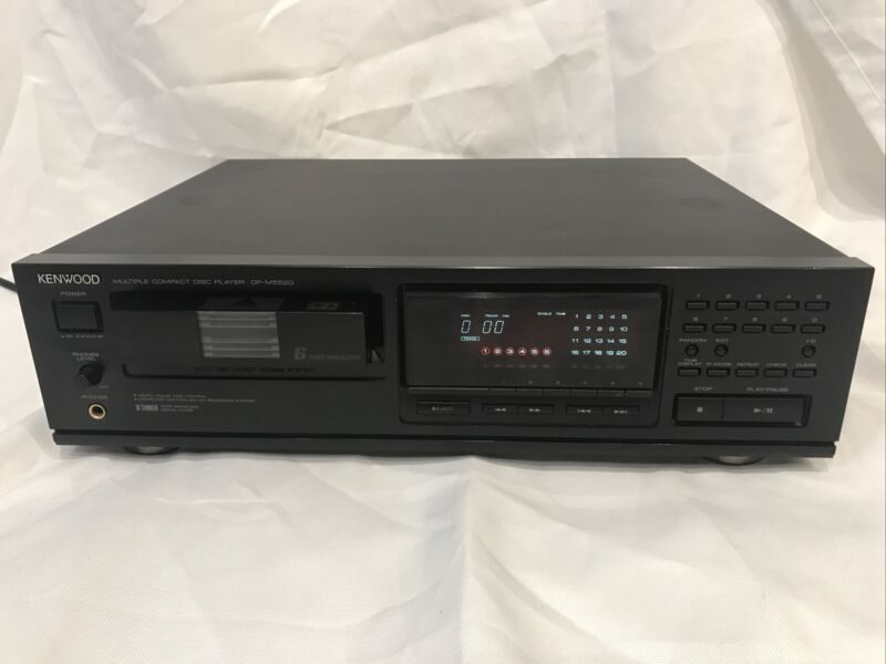 Kenwood Multiple Compact Disc Player DP-M5520 6 Disc Magazine CD PLAYER TESTED