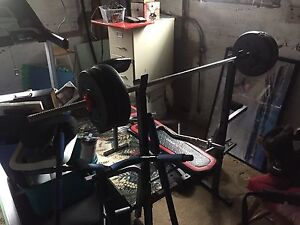 Weight bench and accessories