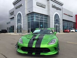 2017 Dodge Viper **IN STOCK**STRYKER GREEN ACR EXTREME**1 OF 1**