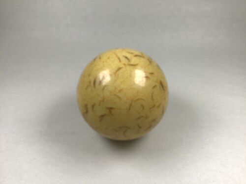 "Vintage billiards cue ball Great Patina 2 1/8"" 5.6 oz snooker pool #925"