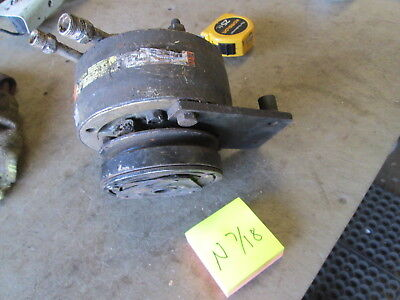 Used Air Conditioning Compressor Wv-belt Pulley For Military Vehicle Poor Cond
