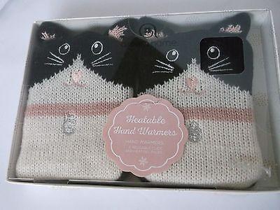 AROMA HOME CLICK & HEAT CAT HAND  WARMERS ( Reusable Gel Packs)