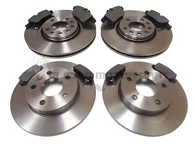VAUXHALL ASTRA H MK5 1.9 CDTi 120 150 SRi FRONT AND REAR BRAKE DISCS & PADS