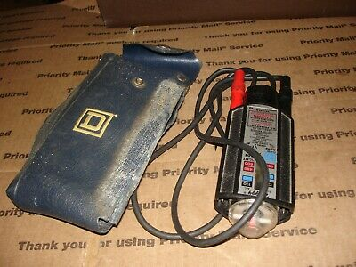 Vintage Wiggy Voltage Tester Square D Company - 6610 Tested Bin 209